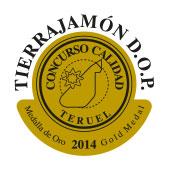 1º PREMIO A LA CALIDAD JAMÓN DE TERUEL 2014